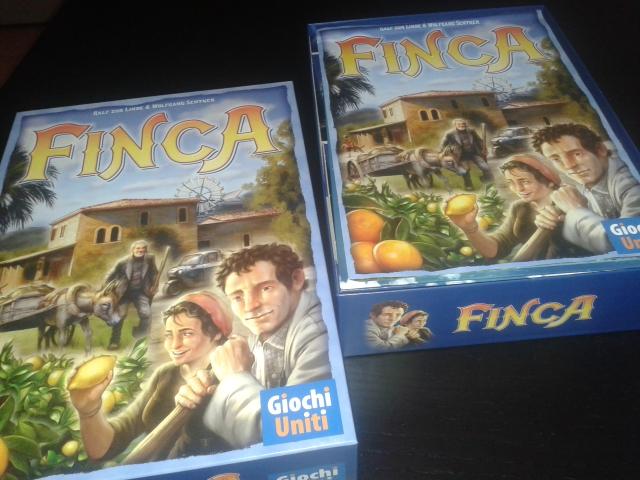 Confezione e regolamento di FINCA